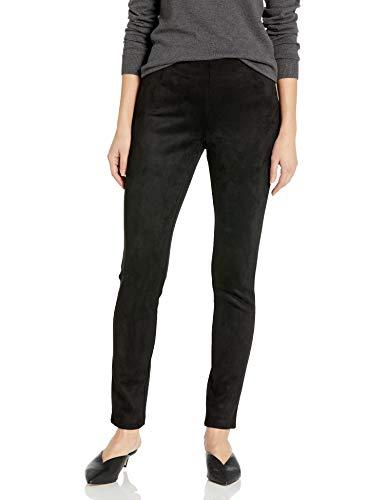 Black Suede Pants - 4