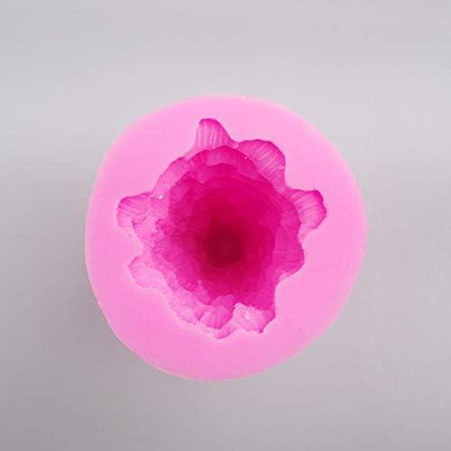 83A9 Kerzenform Seifenform Harz Pink Bienenstock Prop Handmade Für Silikon