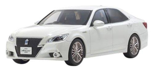 1/18 トヨタ クラウン ハイブリッドアスリート G (ホワイトパールクリスタルシャイン) 「SAMURAIシリーズ」 KSR18001W