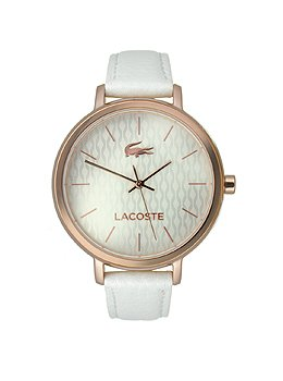 Lacoste Women's 2000885-NICE White/Silver Watch