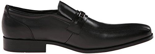 Kenneth Cole Reaktion Mens Dagg Det Bättre Läder Slip-on Loafer Svart
