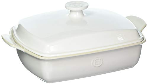 Emile Henry 238428 Covered Rectangular Baker, 14.6