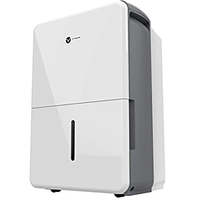 Vremi Dehumidifier for Home and Basements - Energy Star Rated for Spaces Between 1000 to 4000 Square Feet - Quiet Efficient Portable in Two Size Options
