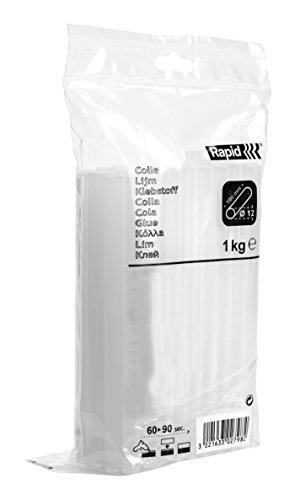 Rapid Pro-B White Hot Glue Sticks, Diameter: 12 mm, Length: 190 mm, 1 Kg, PRO, 40302803