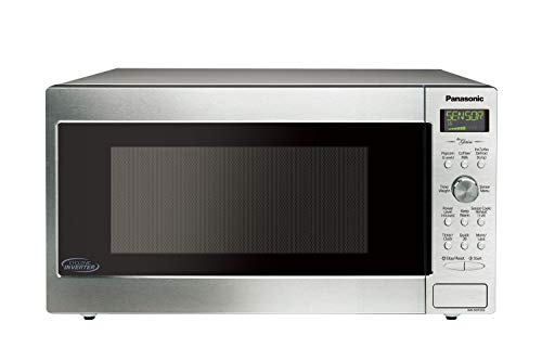Panasonic NN-SD755S / NN-SD765S Cyclonic Wave Inverter Technology Microwave Oven, 1.6 cu. Ft, Stainless (Renewed)