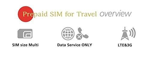 SoftBank Prepaid SIM for Travel Japan SIM Data 1GB 4G LTE SIM size Multi 31Days by Softbank (Image #5)