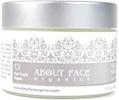 About Face Organic Vitamin A Night Cream 2% Retinol | 80% Organic | Paraben & Cruelty Free | 2 Oz