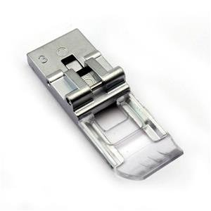 Clear View Foot #795818107 for Janome CoverPro 1000CPX, 2000CPX 3-Needle Machine by Cutex