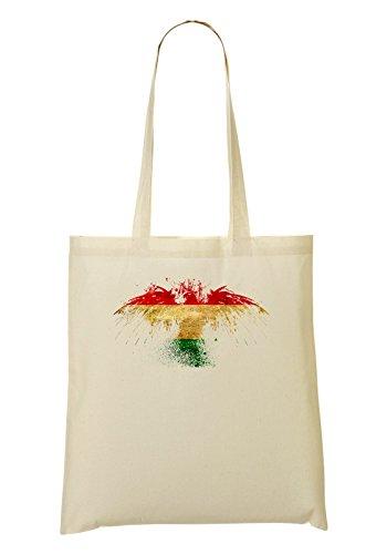 Hungary Eagle Flag Bolso De Mano Bolsa De La Compra