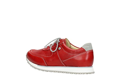 Mujer Wolky 70500 Stretch Cordones Cuero Zapatos 05806 Leder Para 70100 De Rot xqnr0Fwpq