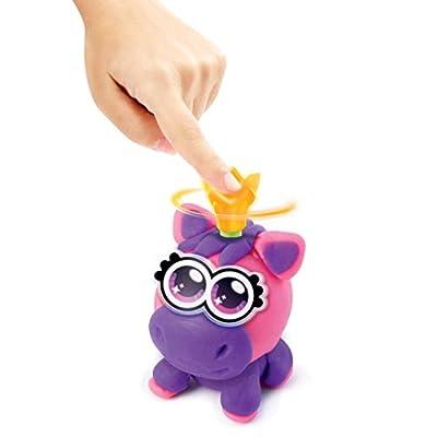 Canal Toys Power Dough Unicorns Interactive Dough (11Piece), Multicolor: Toys & Games