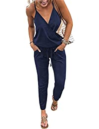 CoCo fashion Women's Yoga Jumpsuit Romper Gym Walking Running Sports Suits
