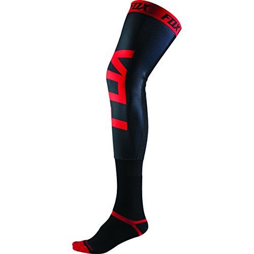 Fox Racing Proforma Knee Brace Men's MotoX Motorcycle Socks - Black/Red / (Racing Knee Brace)