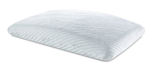 Tempur-Pedic TEMPUR Essential Pillow, Soft Support, Adaptable Comfort Washable Cover, Assembled in The USA, 5 YR Warranty, Standard ()