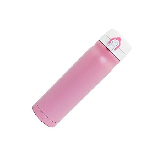 Pink Practical Bullet Stainless Steel Business Travel Mug Insulated Cup by Travel Mugs