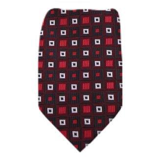 B-11704 - Boys Youth Burgundy Pattern Designer Necktie Ties by Basilio (Image #2)