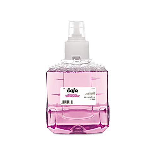 GOJO 191202CT Antibacterial Foam Handwash, Refill, Plum, 1200mL Refill (Case of 2)
