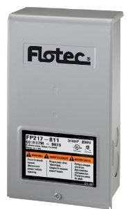 Flotec FP217-811-P2 3/4 HP Submersible Well Pump Replacement Control Box (Fairbanks Replacement)