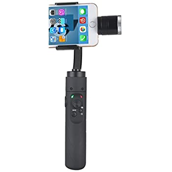 Image of Accessories AFI V3 V Face Tracking 3-Axis Handheld Aluminum Brushless Gimbal Stabilizer for Smartphone & GoPro Action Cameras, Black