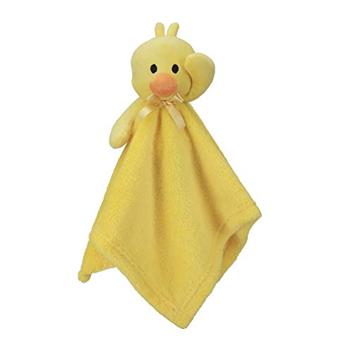 "Lovey Stuffed Animal Security Blanket for Boys and Girls Gift for Newborn/Infant (Yellow, 15"") ()"