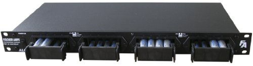Fischer Amps ALC 161 Rackmount Battery Charger  for 16 AA/AAA Rechargeable Batteries by Fischer Amps
