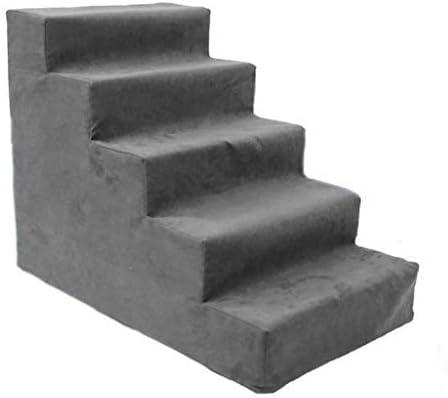 XWF Esponja Escalera para Mascotas Gato/Perro Escaleras Mascota Plegable 5 Pasos Escaleras del Gato Perro Mascota Pasos Rampa Escalera Portátil: Amazon.es: Productos para mascotas
