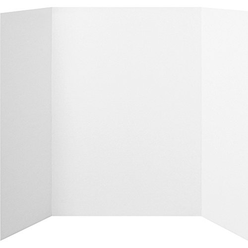 Elmers Display Board (Elmers 730205 Project Board Display, Tri-Fold Board, 36 in.x48 in., White)