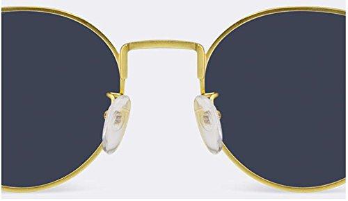 soleil et lunettes couple lunettes visage A soleil lunettes rondes soleil Hommes polarisées de de de femmes femmes confortables v1BwqvOd