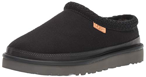 UGG Men's Tasman Slipper, Black, 13 Medium US