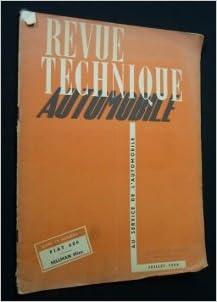 Livre Revue technique automobile, n° 51, juillet 1950 pdf