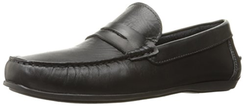 - Florsheim Men's Jenson Penny Slip-On Loafer, Black, 8 D US