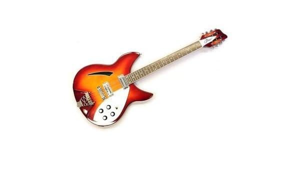 Career CG de 6 cs Ric S de 12 cuerdas de guitarra Sunburst: Amazon.es: Instrumentos musicales
