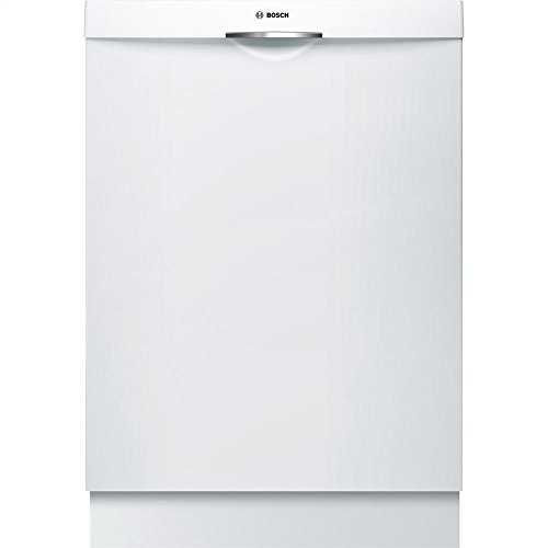 Bosch SHS5AVL2UC 24″ Ascenta Energy Star Rated Dishwasher with 14 Place Settings Stainless Steel Tub 5 Wash Cycles Infolight RackMatic and 24/7 Overflow Protection System in