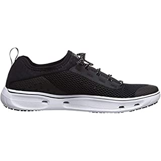 Under Armour Men's Kilchis Sneaker, Black (002)/White, 9