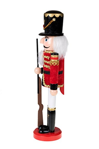 Clever Creations Traditional Wooden Soldier Nutcracker