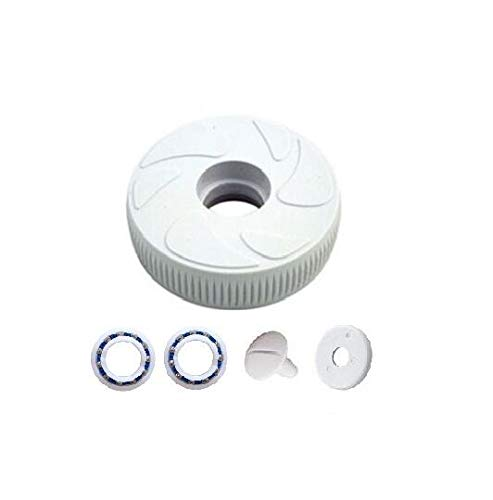 ( pool and spa repl parts ) Polaris 180 280 Small Idler Wheel Screw/Washer, 2 Bearings Part C16 C55 C60 C64