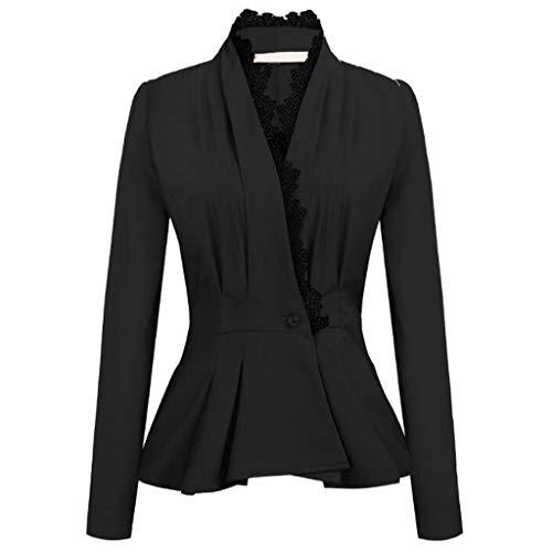 - TnaIolr Fashion Women OL Style Three Quarter Sleeve Blazer Elegant Slim Suit Coat