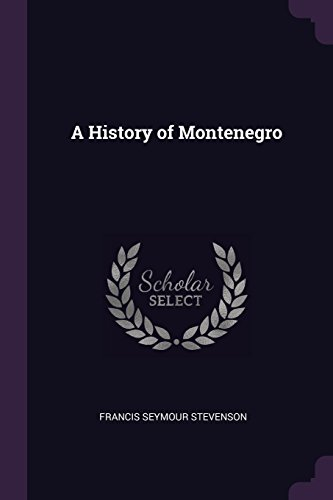 A History of Montenegro
