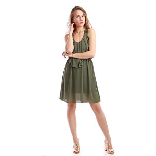 La Modeuse - Vestido - para mujer caqui