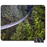 Capilano Suspension Bridge, British Columbia Mouse Pad, Mousepad (Bridges Mouse Pad)
