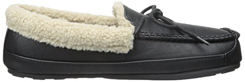 Tamarac Door Slippers Internationale Mens Jeffrey Instappers Loafer Zwart