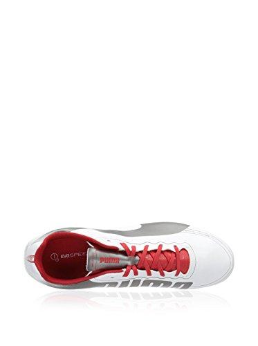 5 White Football Chaussures De Fg Evospeed 2 Puma Homme Swv77T