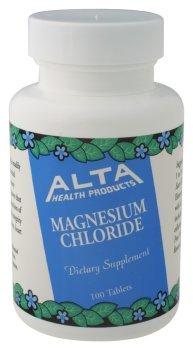 Alta Health - Onglets chlorure de magnésium 100 Tabs