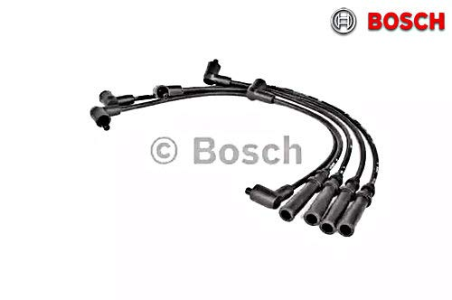 BOSCH Ignition Spark Plug Cable Wire Kit Fits VOLVO 740 940 2.0-2.3L 1984-1998 ()