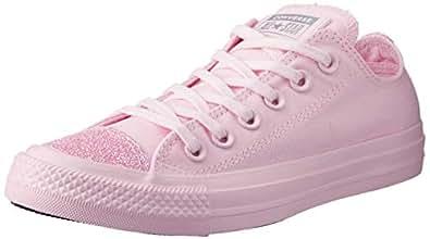 Converse Australia Chuck Taylor Canvas Low Top Sneakers, Pink Foam/Pink Foam/Pink Foam, 5.5 US