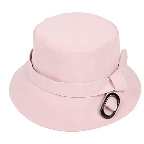 TANGSen Unisex Solid Color Bucket Bench Hat Women Men Boonie Fishing Outdoor Cap Casual Hat - Bucket Hat Crusher