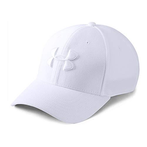 - Under Armour Men's Blitzing 3.0 Cap, White (101)/White, X-Large/XX-Large