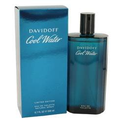 NEW DAVIDOFF Cool Water Cologne EDT Spray - 6.7 oz (MEN)
