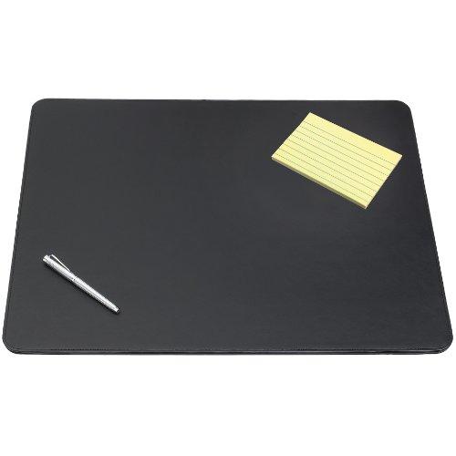 Artistic 24'' x 38'' Sagamore Executive Designer Desk Pad, Black by Artistic