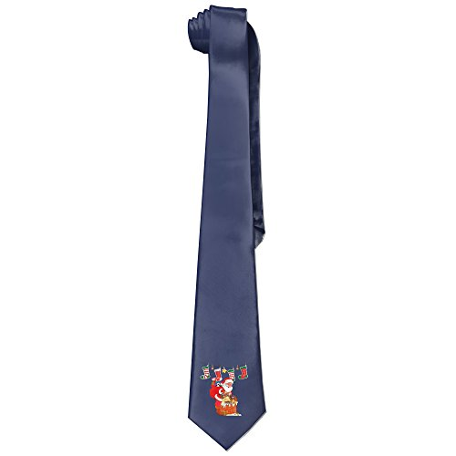 xmas-mens-santa-claus-and-godiva-fashion-business-solid-necktie-ties